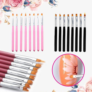 [PROMO 30% OFF] Nailzy™ Flower Brush Pen (8pcs)