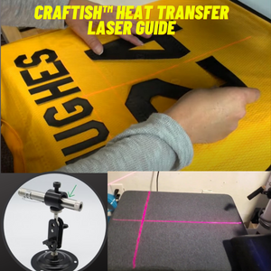 Craftish™️ Heat Transfer Laser Guide