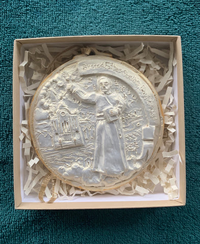 *NEW* 2020 Golden White Blessed Father Seelos Ornament