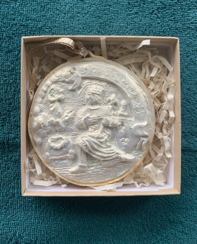 *NEW* 2020 Golden White Saint Louis IX Ornament