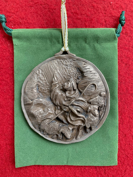 *NEW* Bronze 2019 Humble Shepherd Ornament