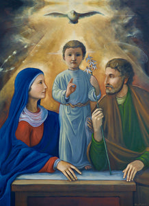 *New* Holy Family Print