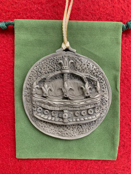 *NEW* Nickel Silver 2019 Epiphany Crown Ornament