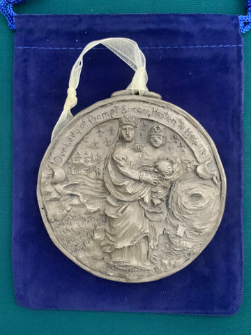 *NEW* 2020 Nickel Silver Our Lady of Prompt Succor Ornament