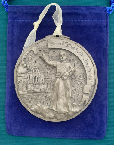 *NEW* 2020 Nickel Silver Blessed Father Seelos Ornament