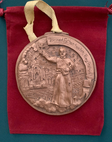 *NEW* 2020 Bronze Blessed Father Seelos Ornament