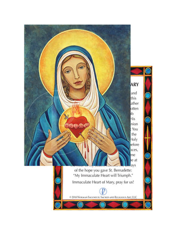 Prayer Card- Immaculate Heart of Mary