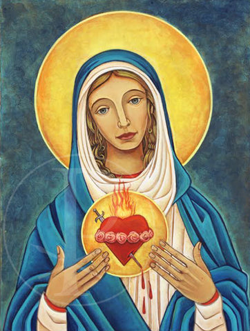 Print- Immaculate Heart of Mary