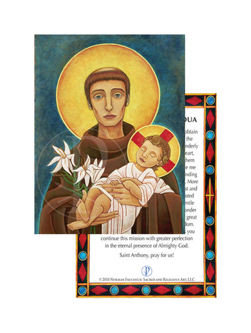 Prayer Card- Saint Anthony of Padua