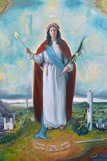 *NEW* Saint Philomena Prayer Card