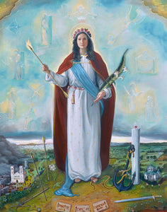 *New* Saint Philomena Print