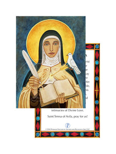 Prayer Card- Saint Teresa of Avila