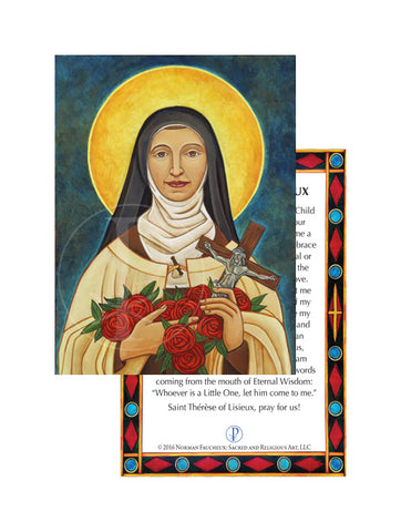 Prayer Card- Saint Therese of Lisieux