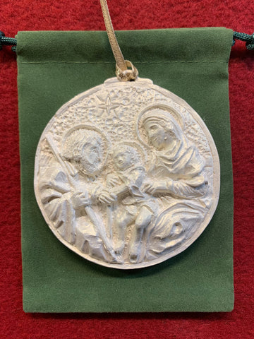 *NEW* 2019 Iridescent Holy Family Ornament
