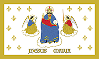 *NEW* Saint Joan of Arc's Battle Standard Sticker