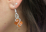 Copper and Sterling Swirls