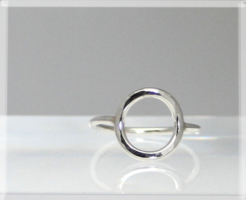 Eternity Ring - Sterling Silver