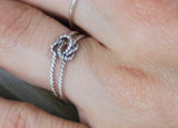 Nautical Rope Knot Ring