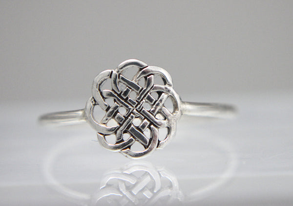 Round Celtic Knot Ring