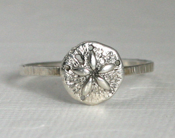 Sterling Silver Sand Dollar Ring