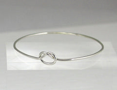 Love Knot Bangle, Infinity Knot Bangle