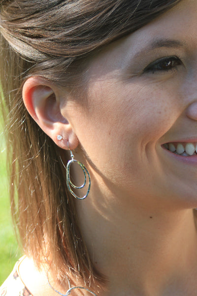 Organic Ovals Earrings