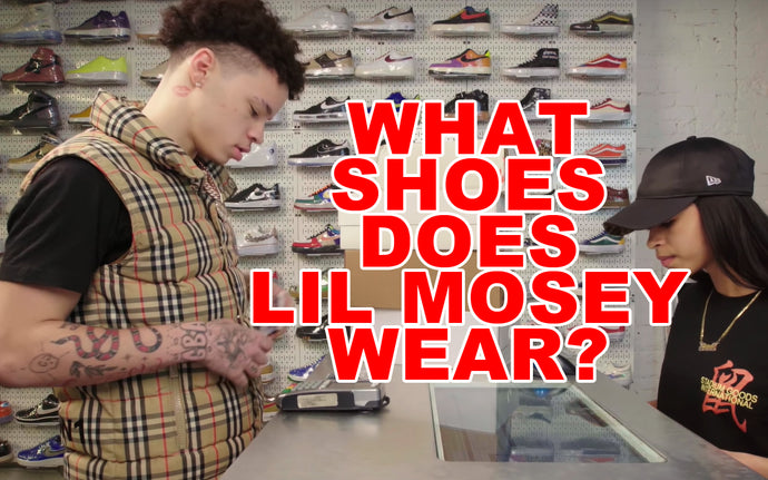 WHAT SHOES DOES LIL MOSEY WEAR?