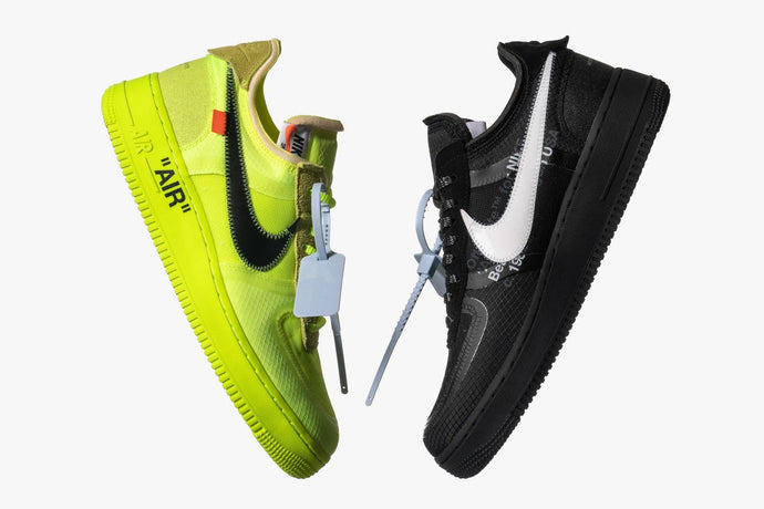 SNEAKER GIVEAWAY: Win The Nike x Off-White 'The Ten' Air Force 1 Pack From HAVEN