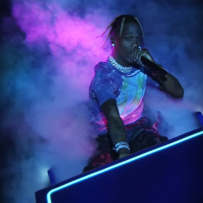 Travis Scott Performs SICKO MODE Live on SNL
