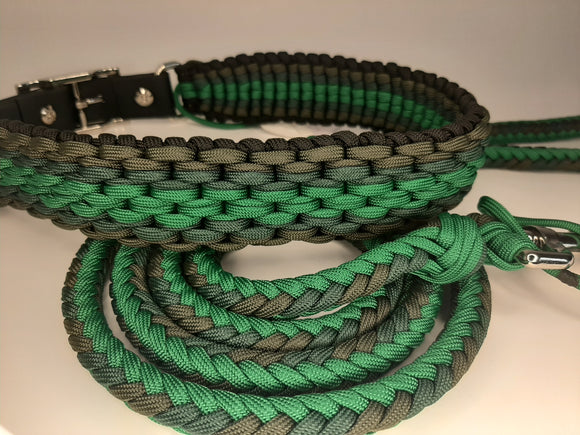 Matching Collar & Leash Set - 21-24
