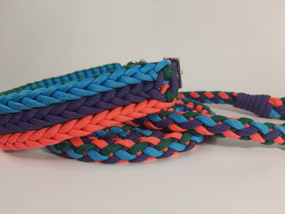 Matching Collar & Leash Set - 15.5-18
