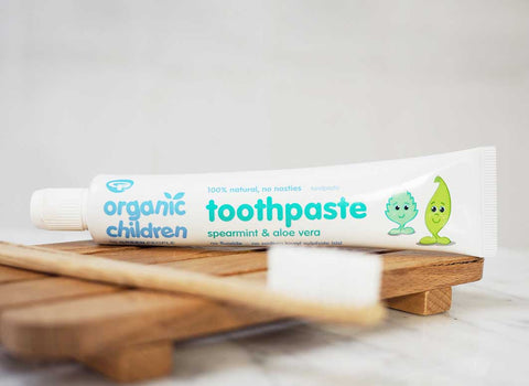 organic toothpaste for children