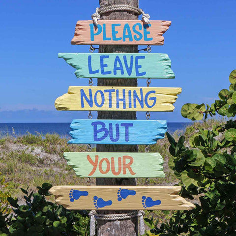 eco beach message