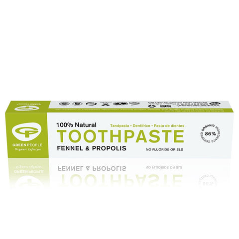 Green People - Fennel & Propolis Toothpaste 50ml   NOW: £4.85
