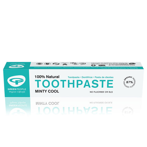 Green People - Minty Cool Toothpaste 50ml   NOW: £4.85