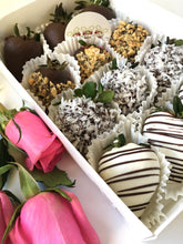 Load image into Gallery viewer, Chocolate Covered Strawberries DOZEN