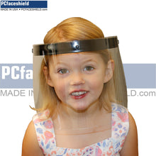 Load image into Gallery viewer, Children's - 100 Plastic Shields and 20 Reusable Headbands - 1 Carton
