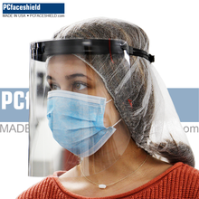 Load image into Gallery viewer, 100 Plastic Shields and 20 Reusable Headbands - 1 Carton