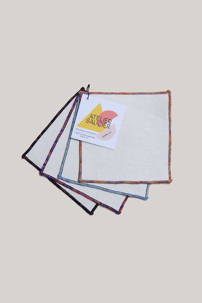 Load image into Gallery viewer, RAINBOW SKY COCKTAIL NAPKINS