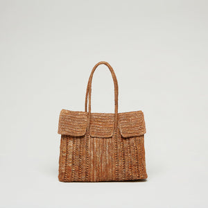 Load image into Gallery viewer, Best Handmade Bags - Raffia Bag Online | TALD
