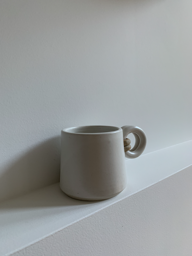 Load image into Gallery viewer, DOUBLE LOOP COFFEE MUG