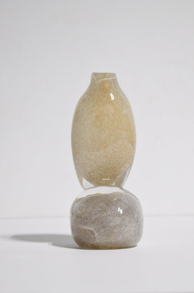 STACKED ROCKS VASE I