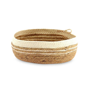 JUTE + COTTON TRAY