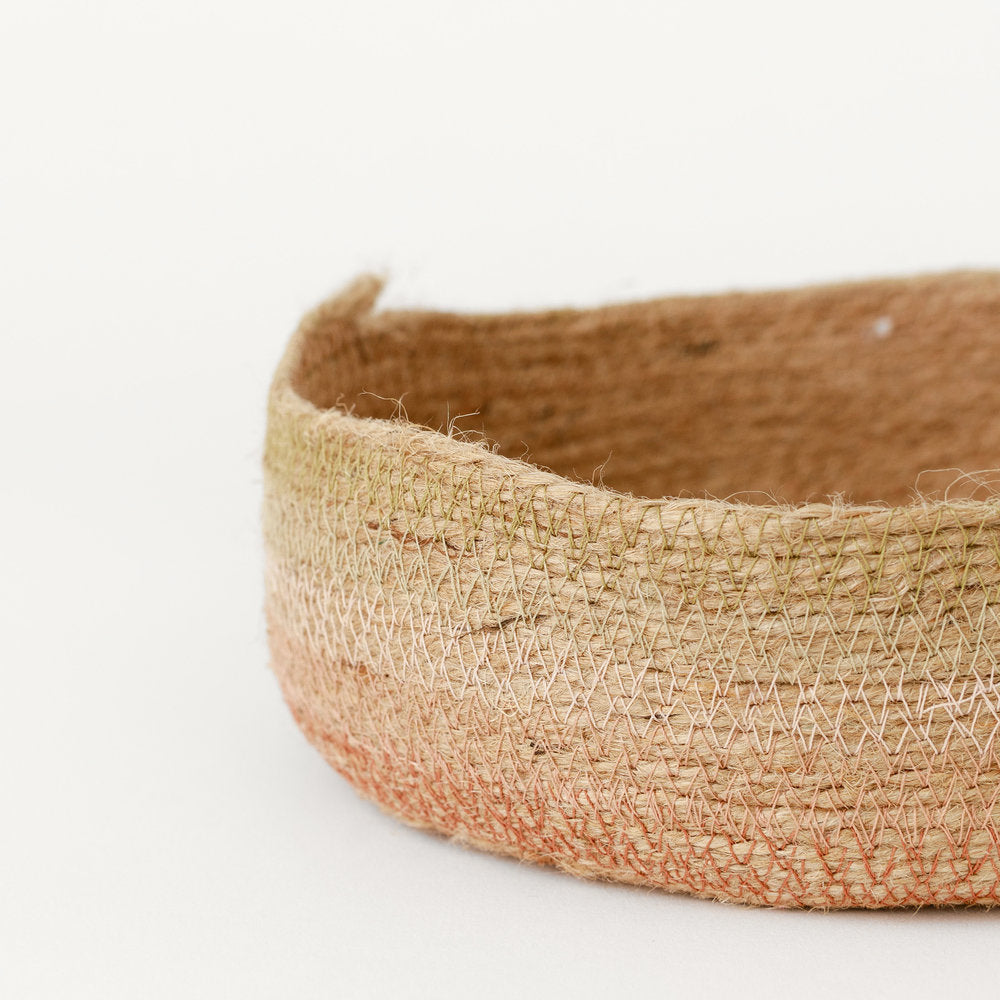 Load image into Gallery viewer, DESERT FLOWER JUTE TRAY