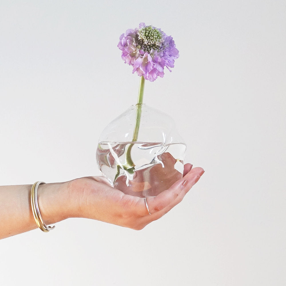 CLEAR SOFTIE BUD VASE