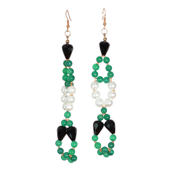 Bow Green Earring - Graced London