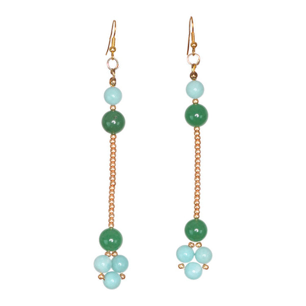 Green Root Earring - Graced London