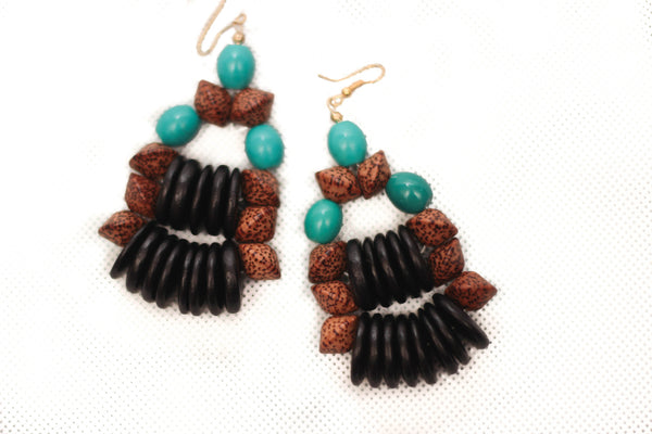 BCG Afro Earring - Graced London - 1