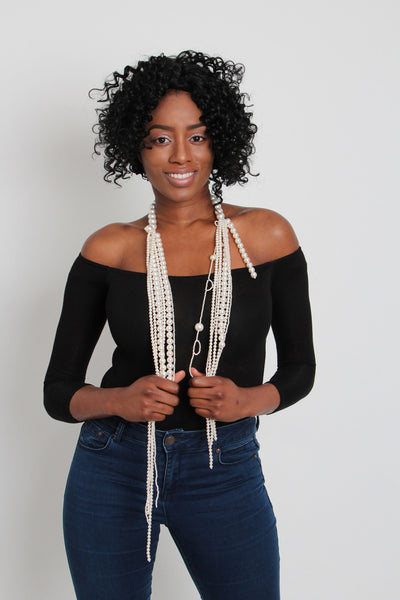 Pearl Strands Necklace - Graced London - 3