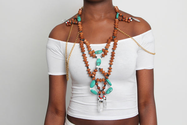 Tribal Necklace - Graced London - 1